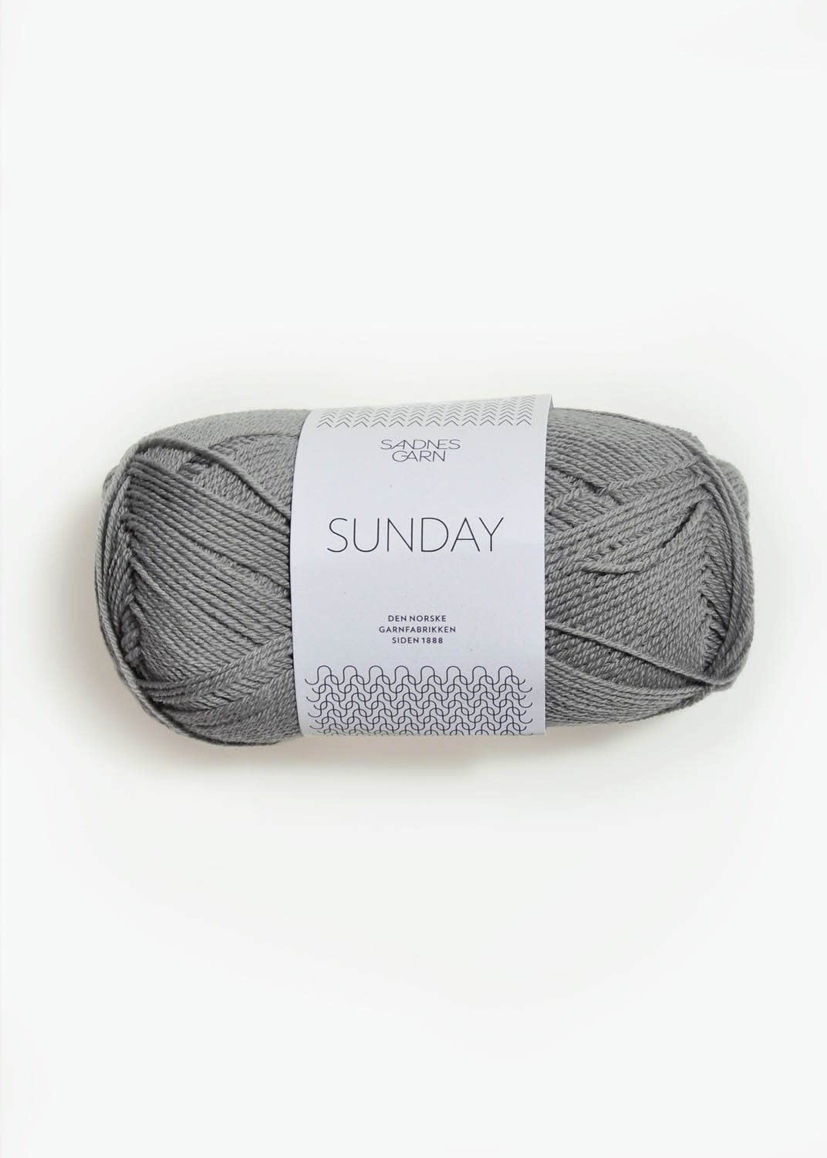 Sandnes Garn Sunday - #1045 Lys Gra
