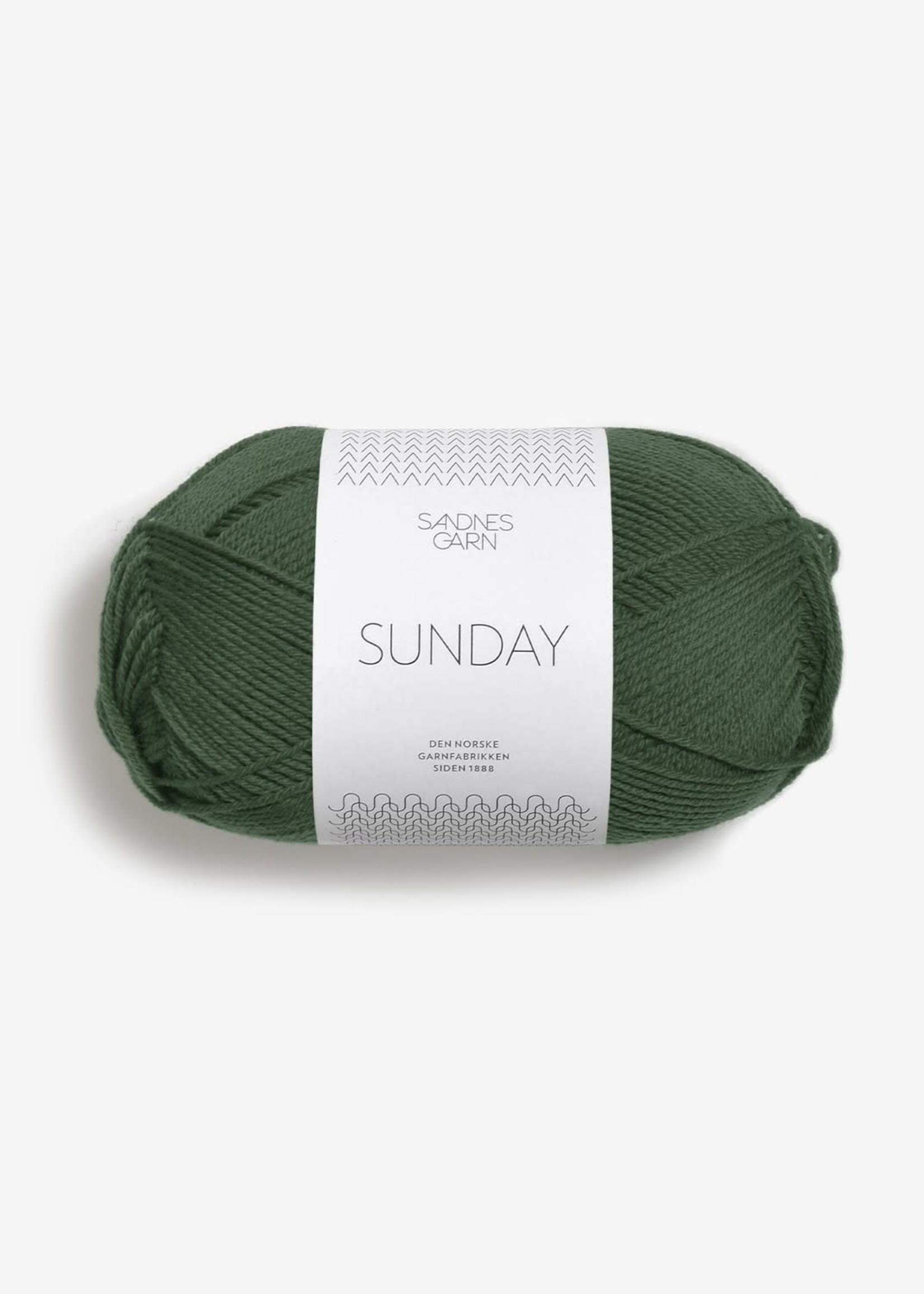 Sandnes Garn Sunday - #8082 Skoggrønn