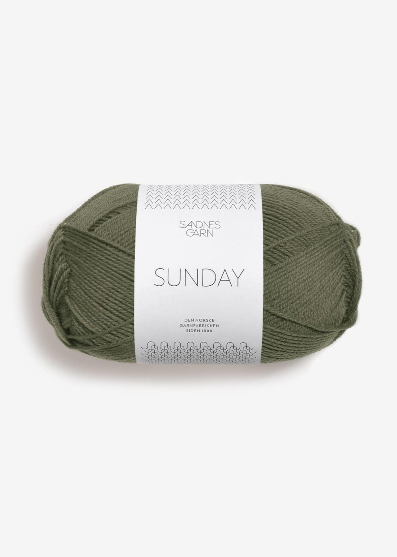 Sandnes Garn Sunday - #9561 Vintermose