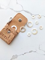 Thread and Maple Thread and Maple Cork Stitch Marker Case