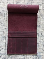 Thread and Maple Thread and Maple Needle Holder Slip - Wine
