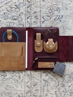 Thread and Maple Thread and Maple Notions Clutch Bundle 5 pc - Wine/Cream