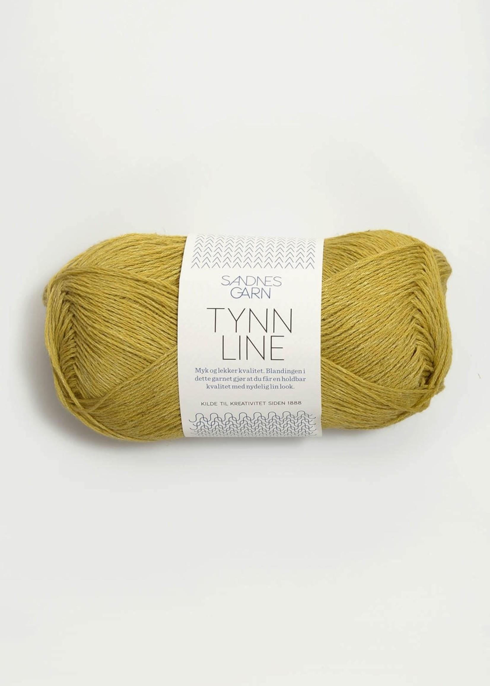 Sandnes Garn Tynn Line - Gulgronn #2024