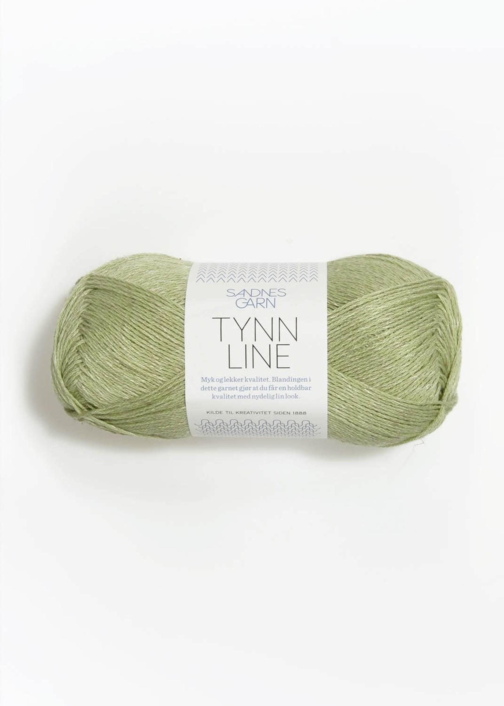 Sandnes Garn Tynn Line - Lys Gronn #9522