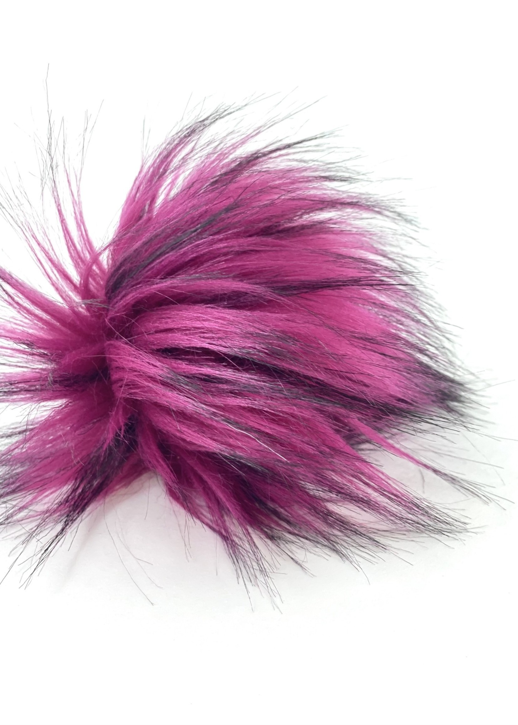 """Warehouse 2020 Warehouse 2020 Faux Pom Pom - 5"""" Orchid Pink"""