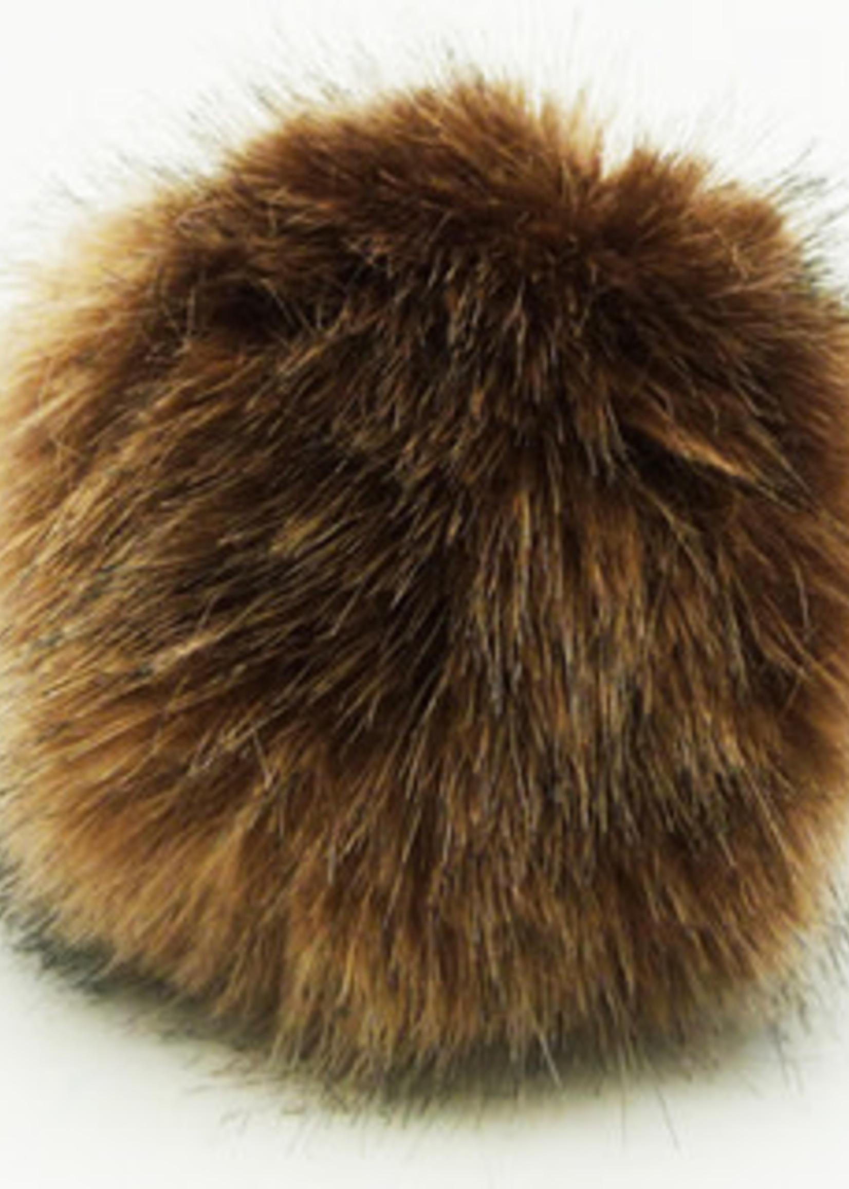 Wild Wild Wool Pompon 10 cm Light Brown