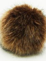 Wild Wild Wool Pompon 13cm Light Brown