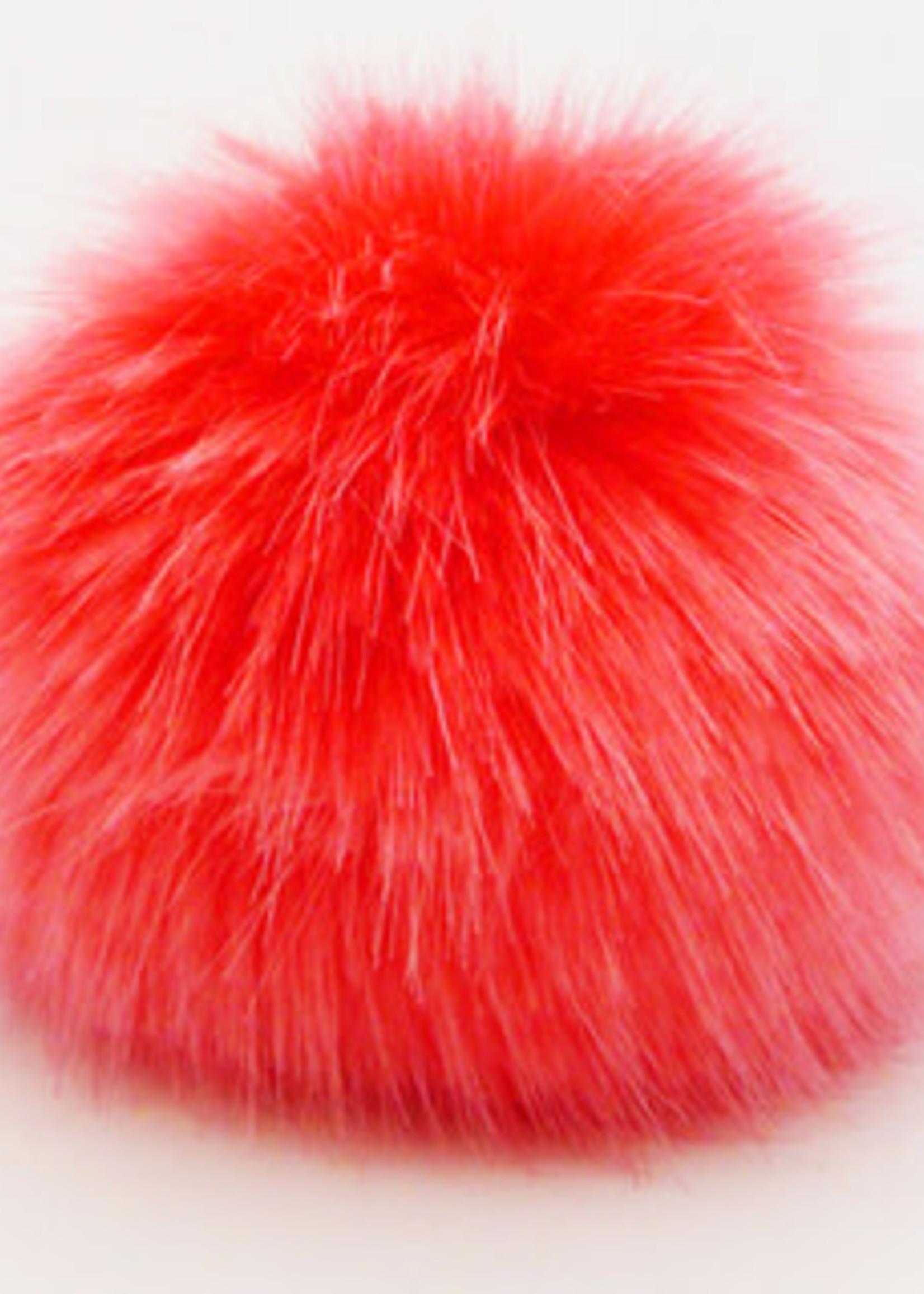 Wild Wild Wool Pompon 5 cm Red