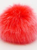 Wild Wild Wool Pompon Red 13 cm
