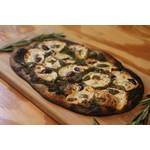 "Italian Olive Pesto ""Neapolitan Style"" Pizza"