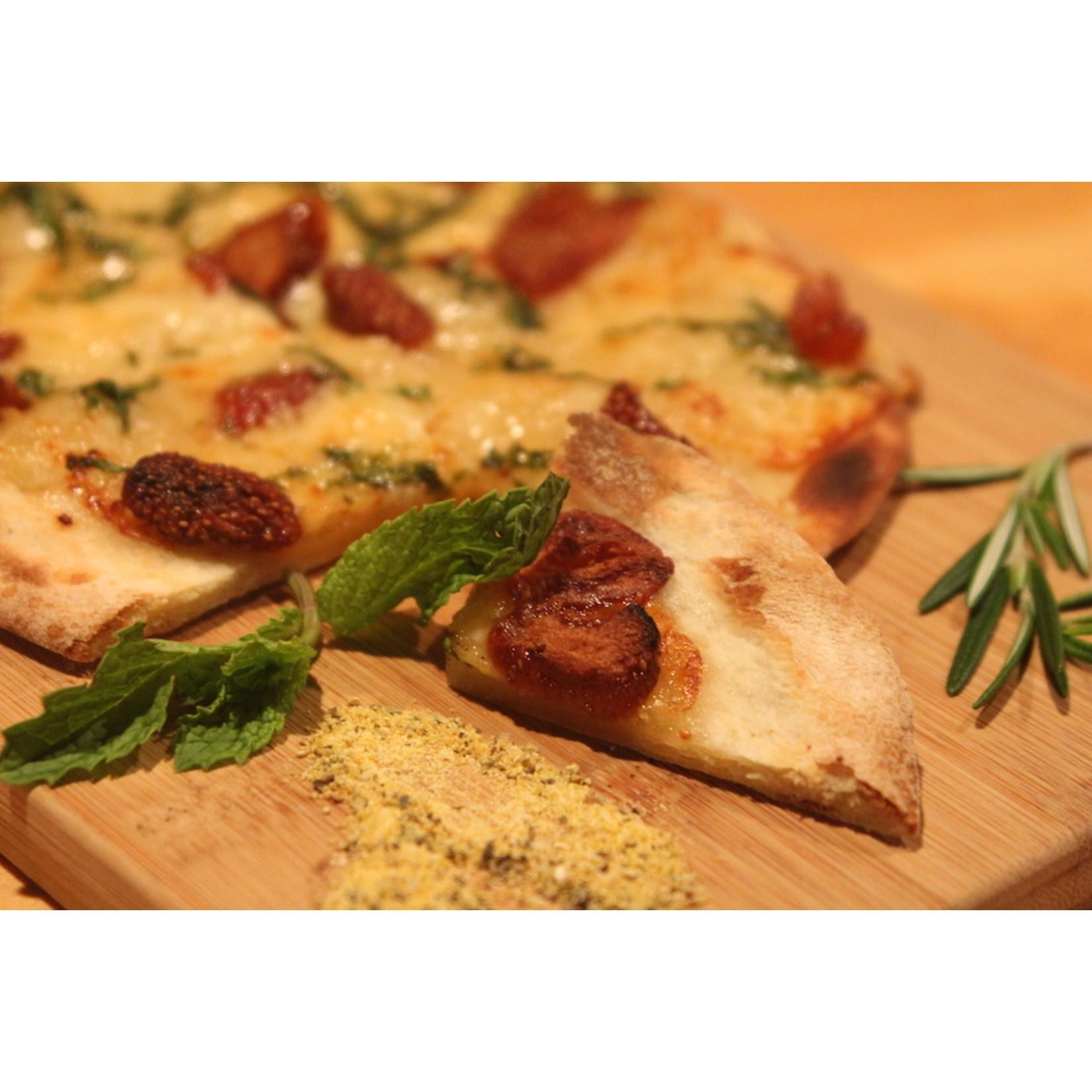 """Strawberry & Basil """"Neapolitan Style"""" Pizza"""
