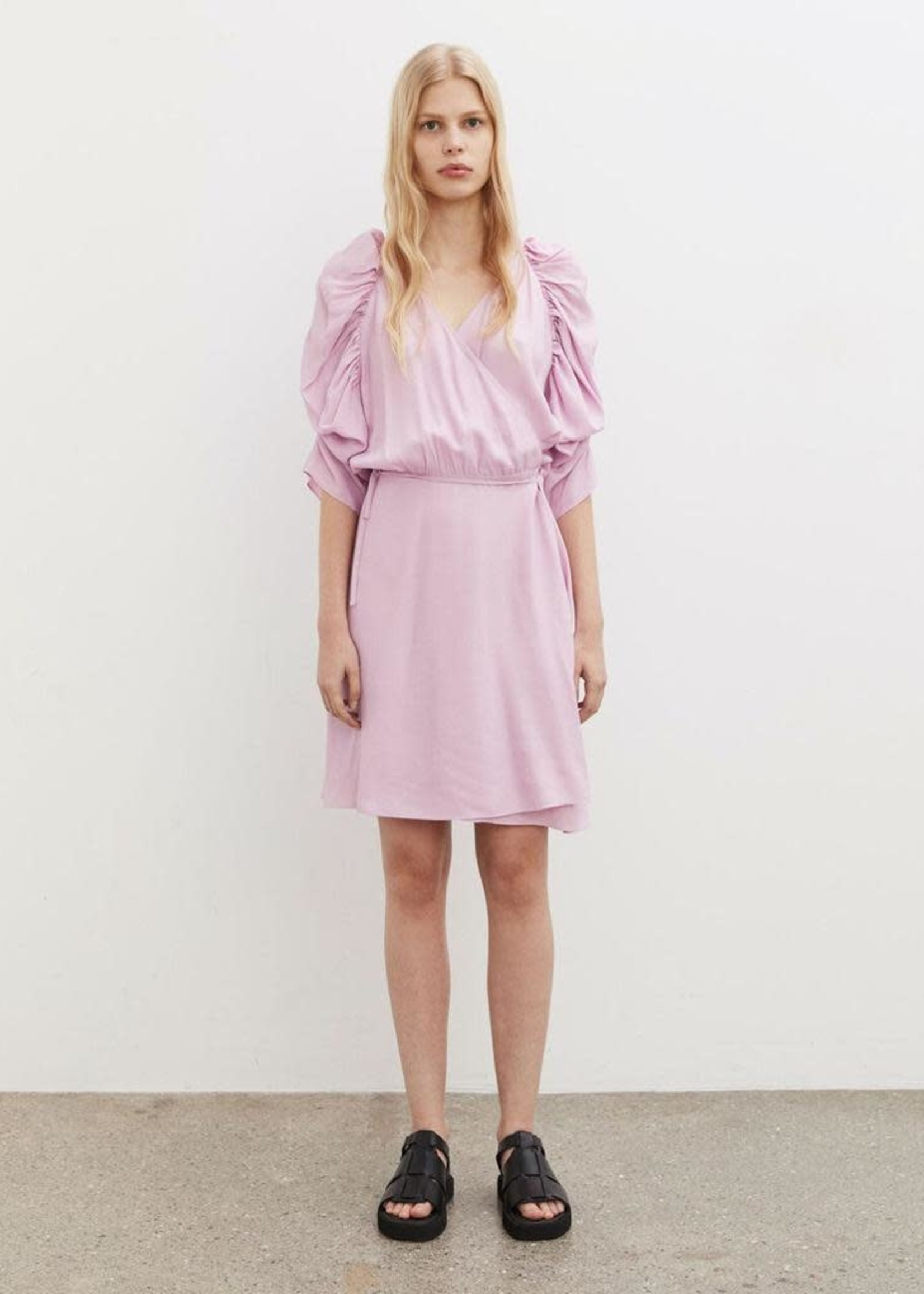 BY MALENE BIRGER ROSANNE WRAP DRESS