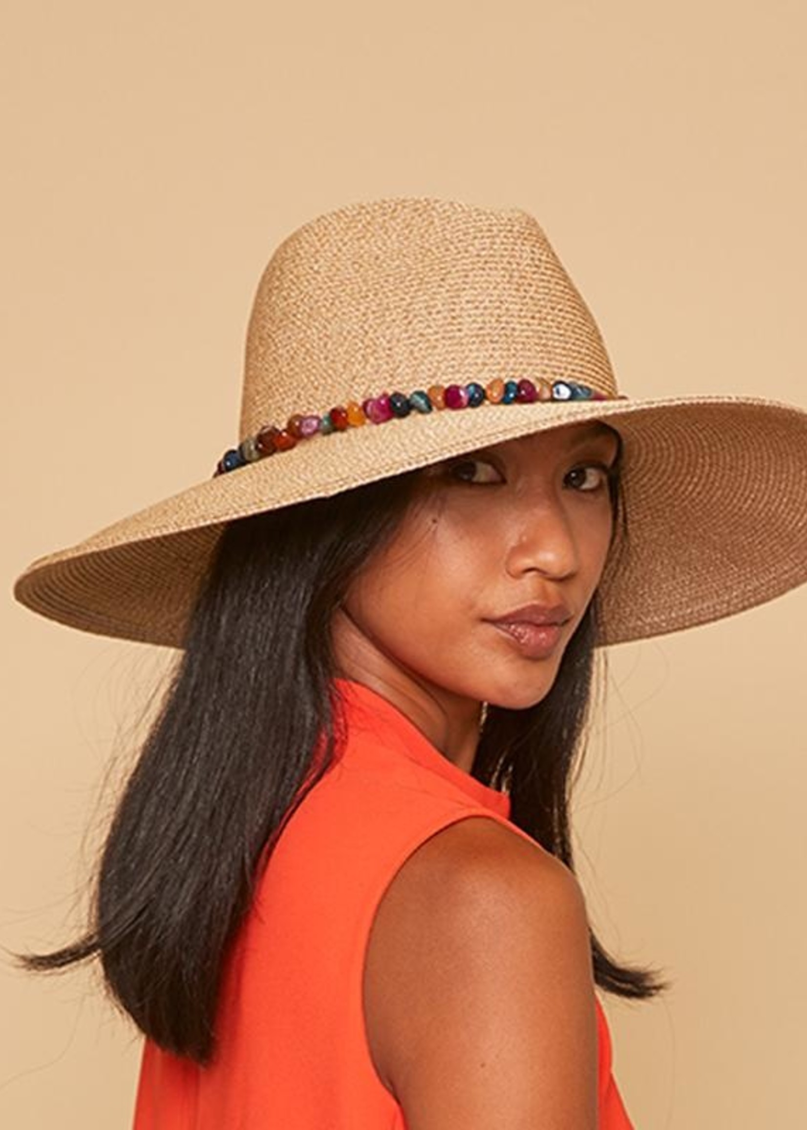 EUGENIA KIM THE CASSIDY HAT IN SAND