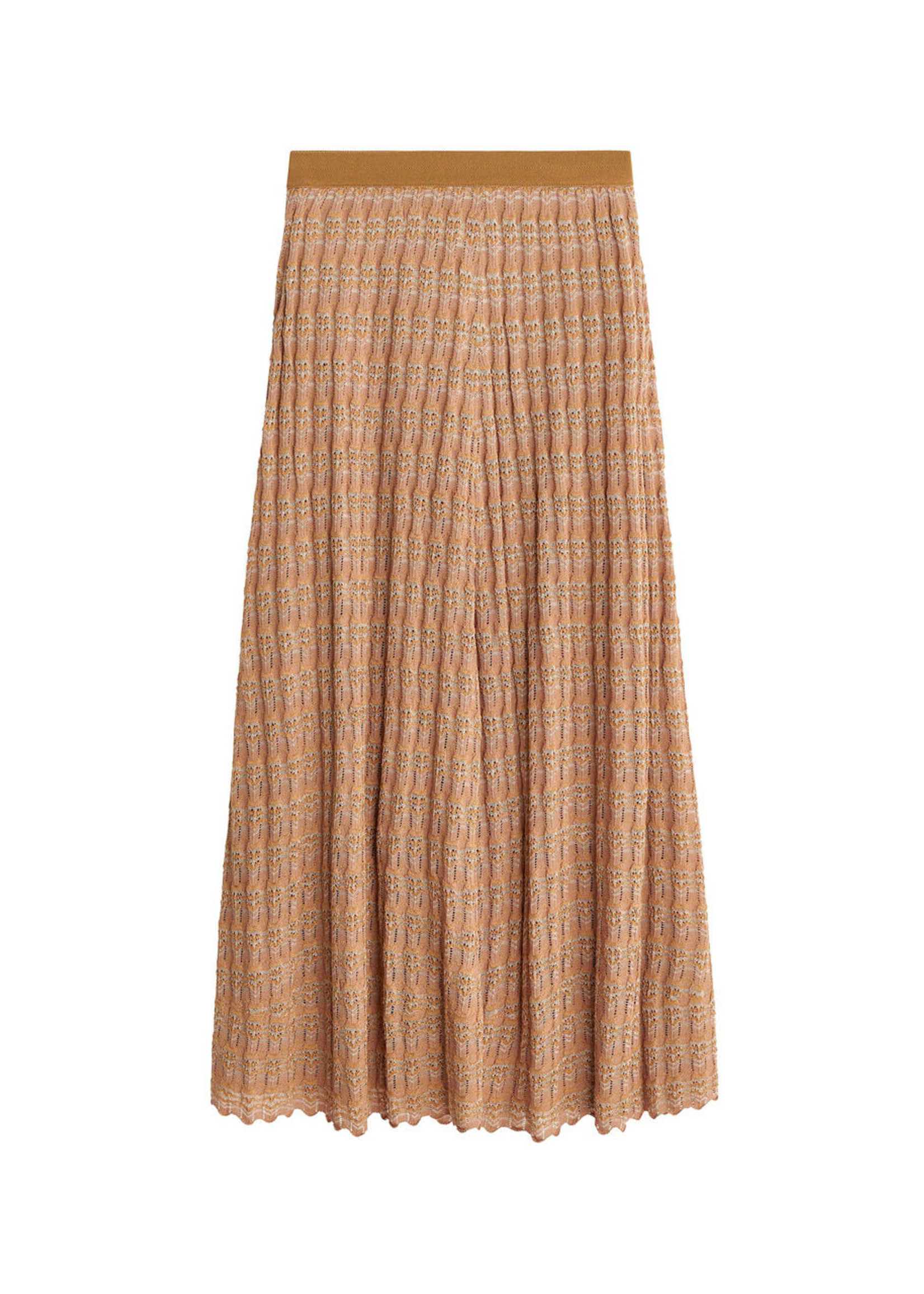 BY MALENE BIRGER DONAX LACE KNITTED SKIRT