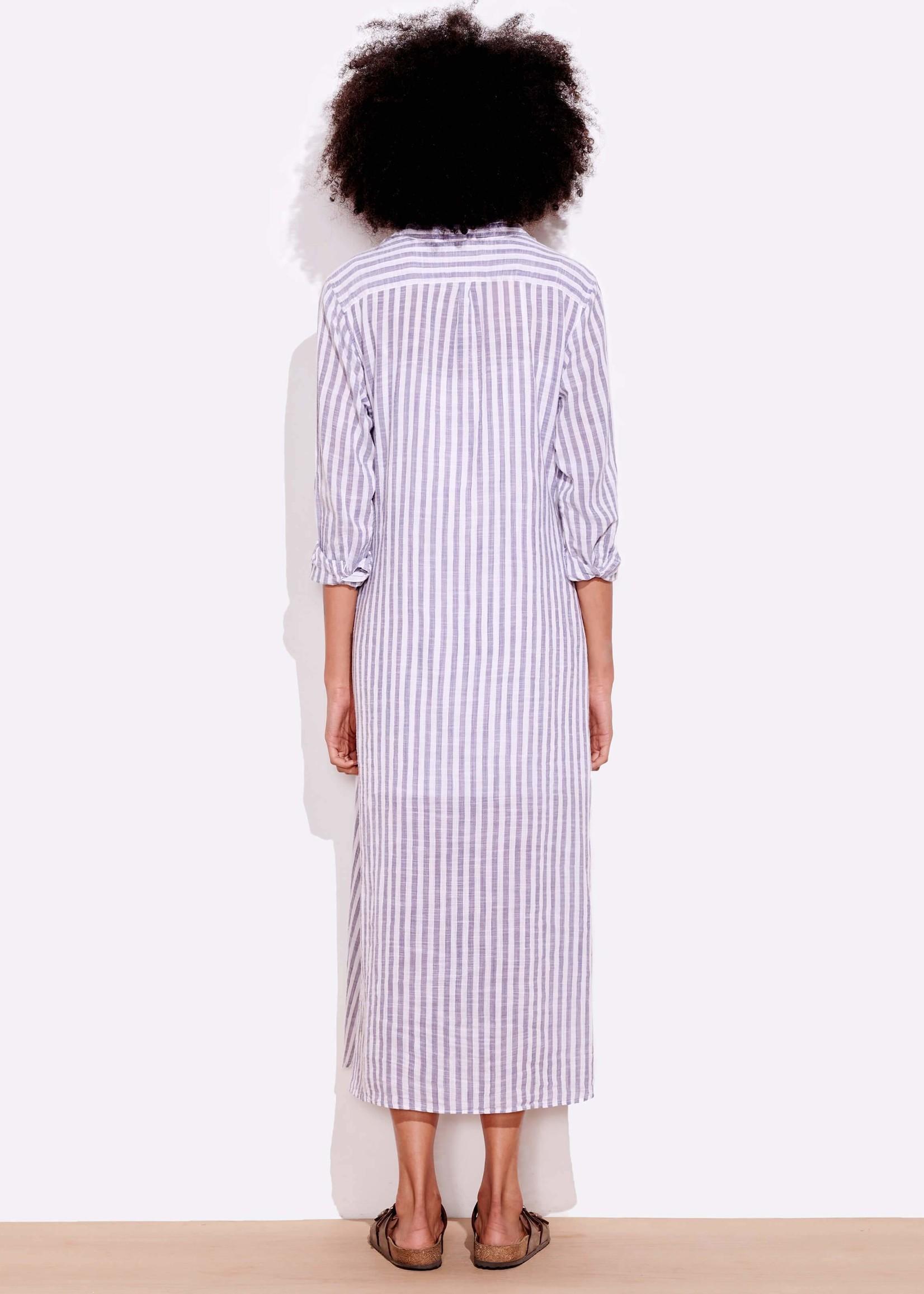 SUNDRY STRIPE SHIRT DRESS
