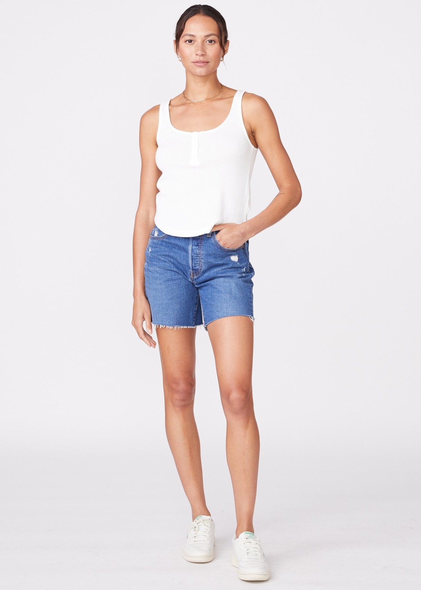 MONROW BABY THERMAL LOOSE HENLEY TANK