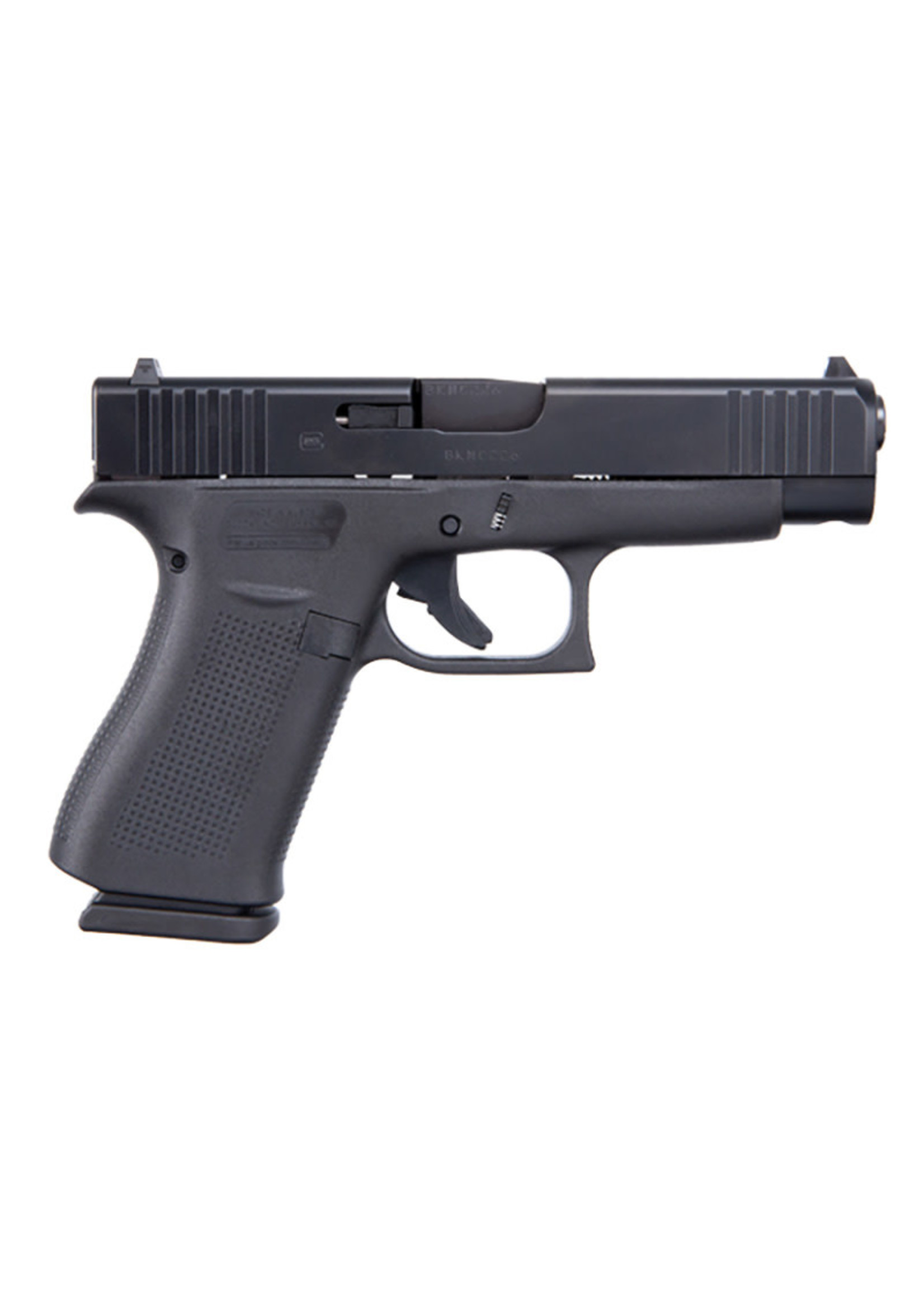 "Glock Glock 48 Pistol, 9mm, 4.17"" Barrel, Fixed Sights, Black, 10-rd"
