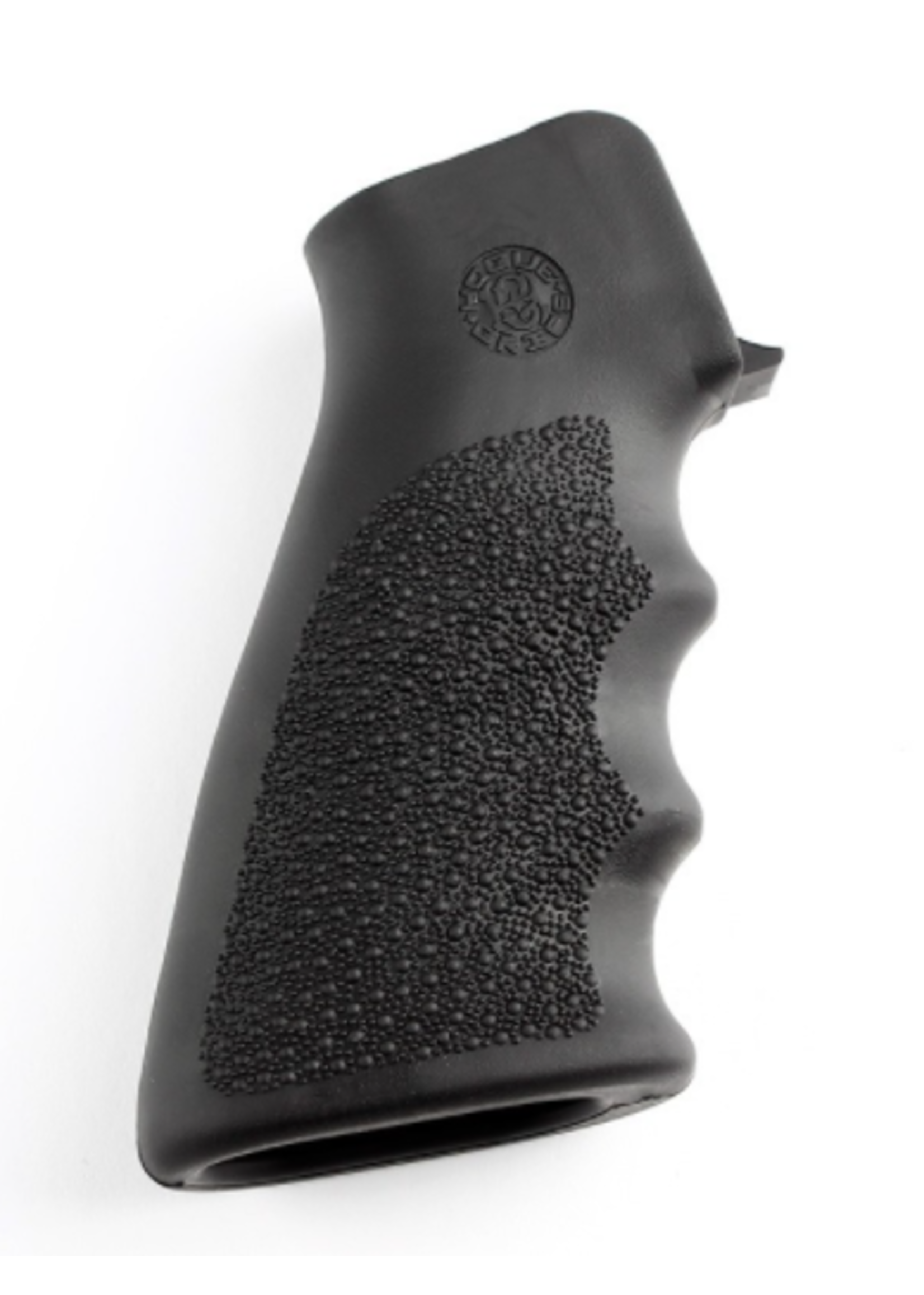 Hogue Hogue AR-15 / M16: OverMolded Rubber Grip with Finger Grooves - Black