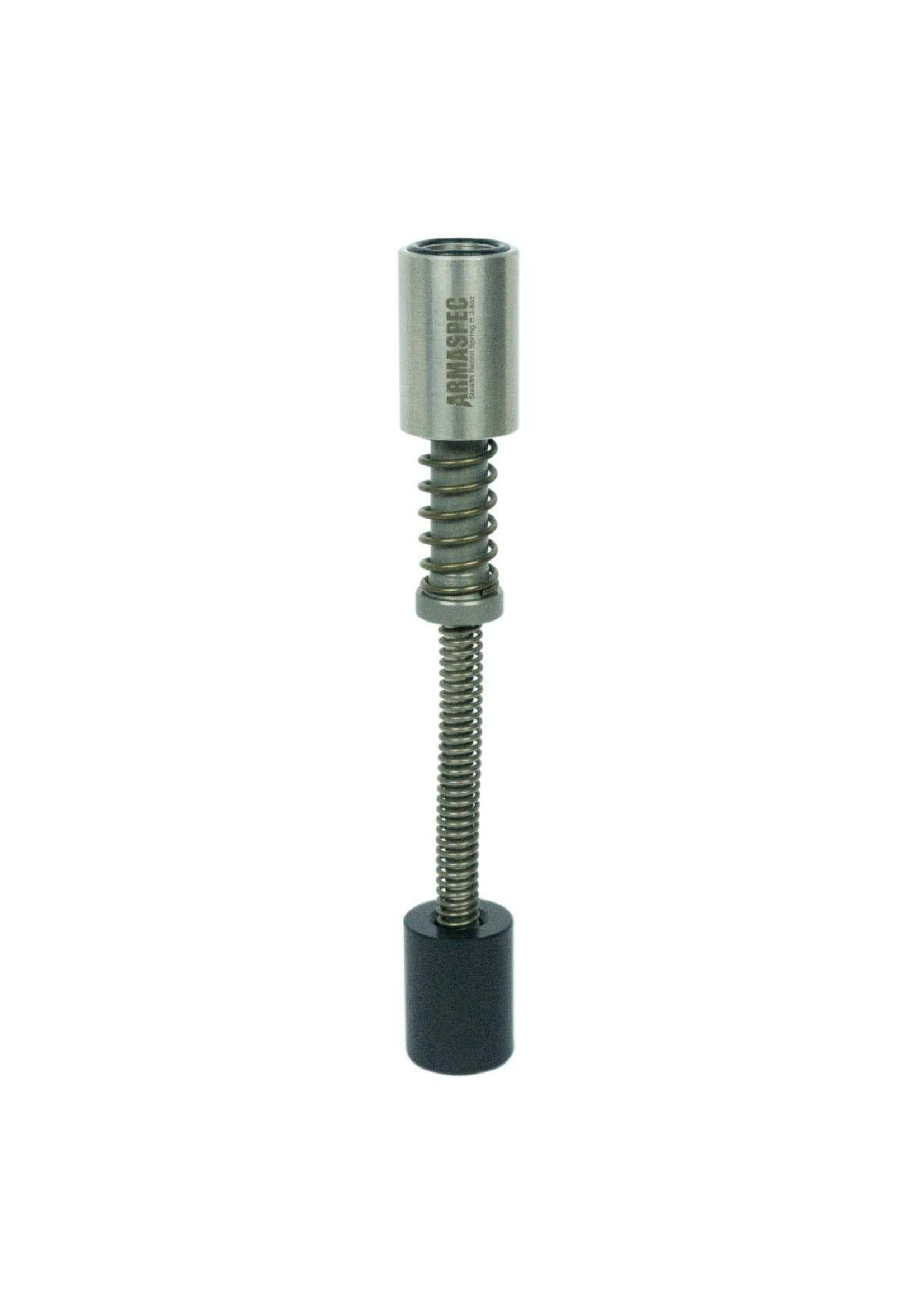 Armaspec Armaspec, Stealth Recoil Spring, SRS-Carbine, 3.3oz., Black, Replacement  for Standard Buffer and Spring