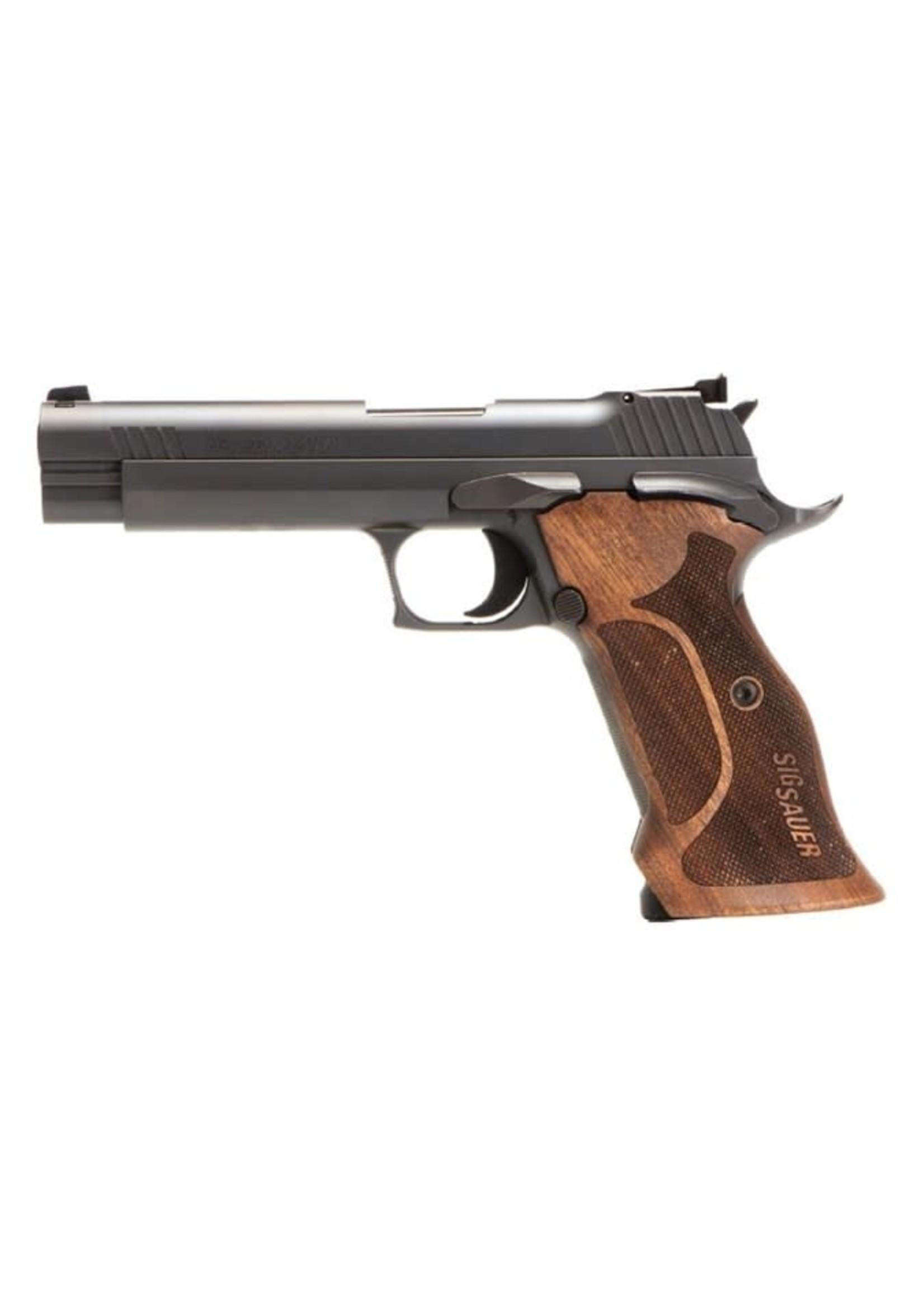 "Sig Sauer Sig Sauer P210 Target Pistol 9mm, Walnut Handle, 5"", 8+1"