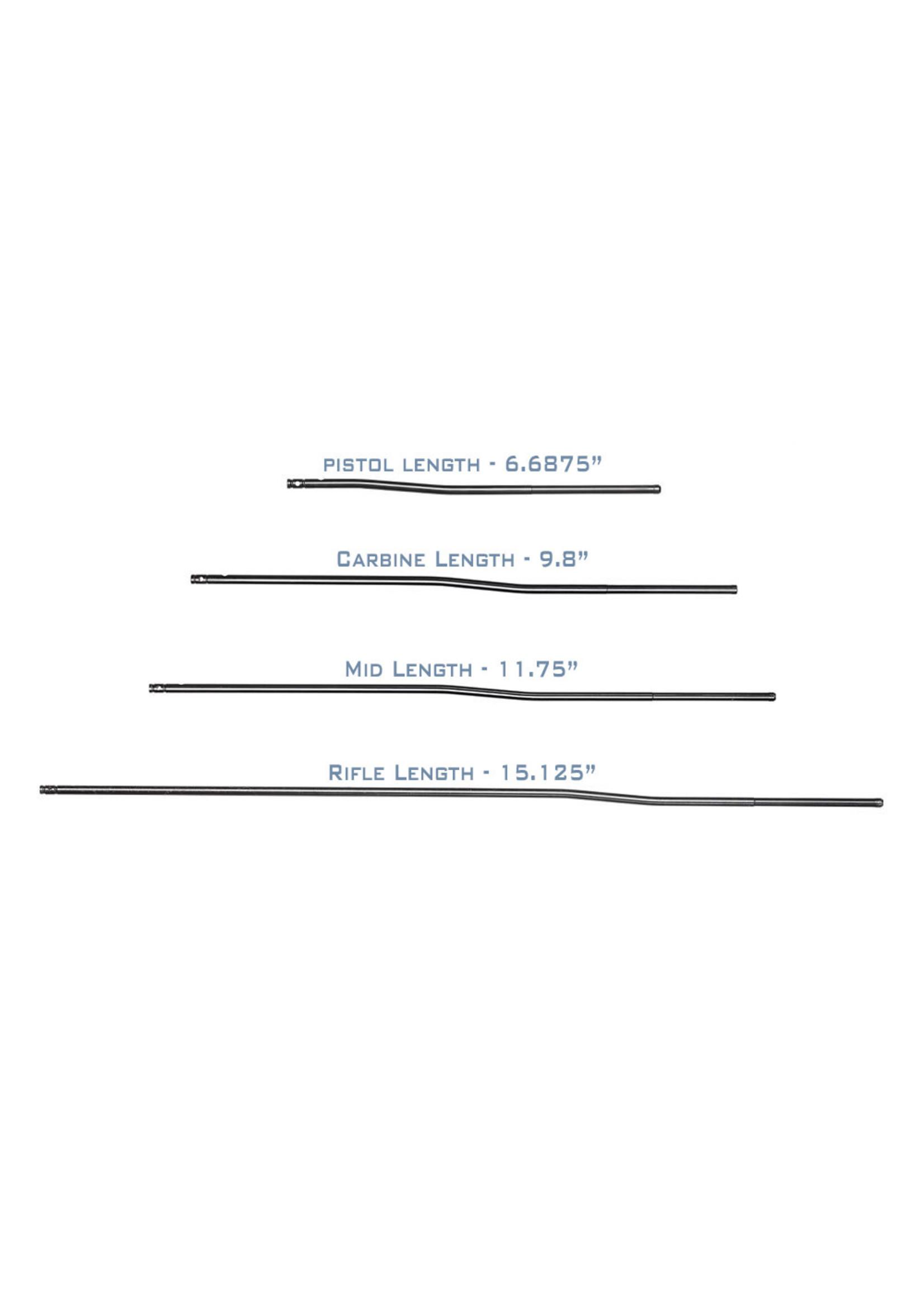 """Aero Precision Aero Precision Melonite Gas Tubes, Carbine-Length, 9.8"""", for AR15/AR10"""