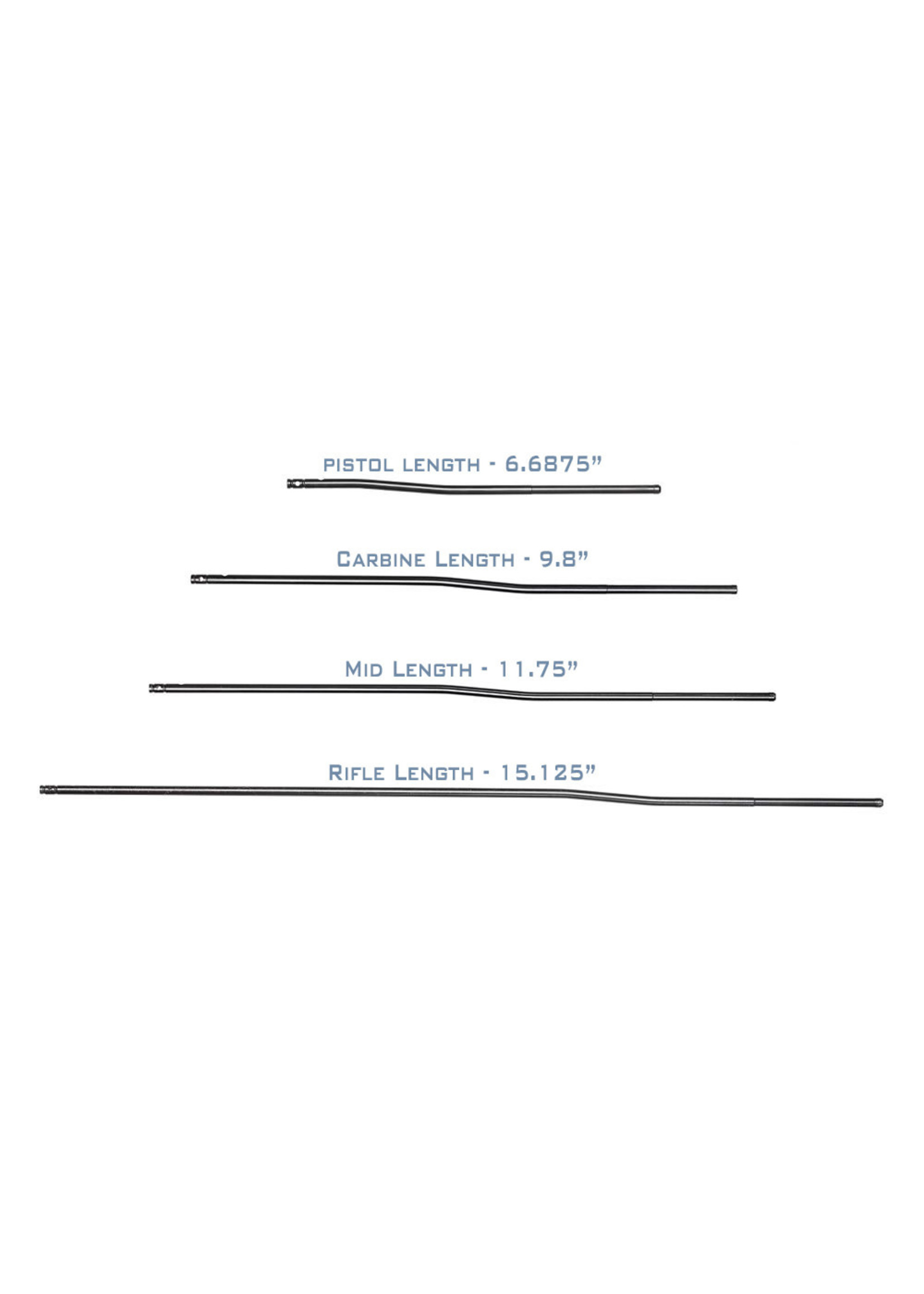 "Aero Precision Aero Precision Melonite Gas Tubes, Pistol-Length, 6.6875"""