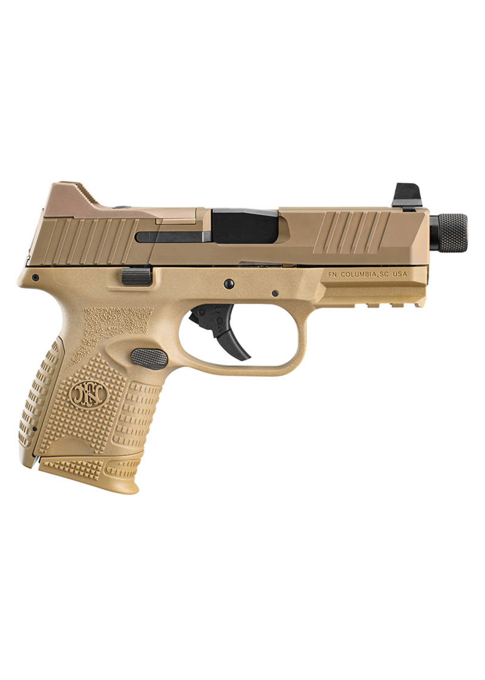 "FN FN 509 Compact Tactical, 4.32"" barrel, Optics Mounting System, FDE"