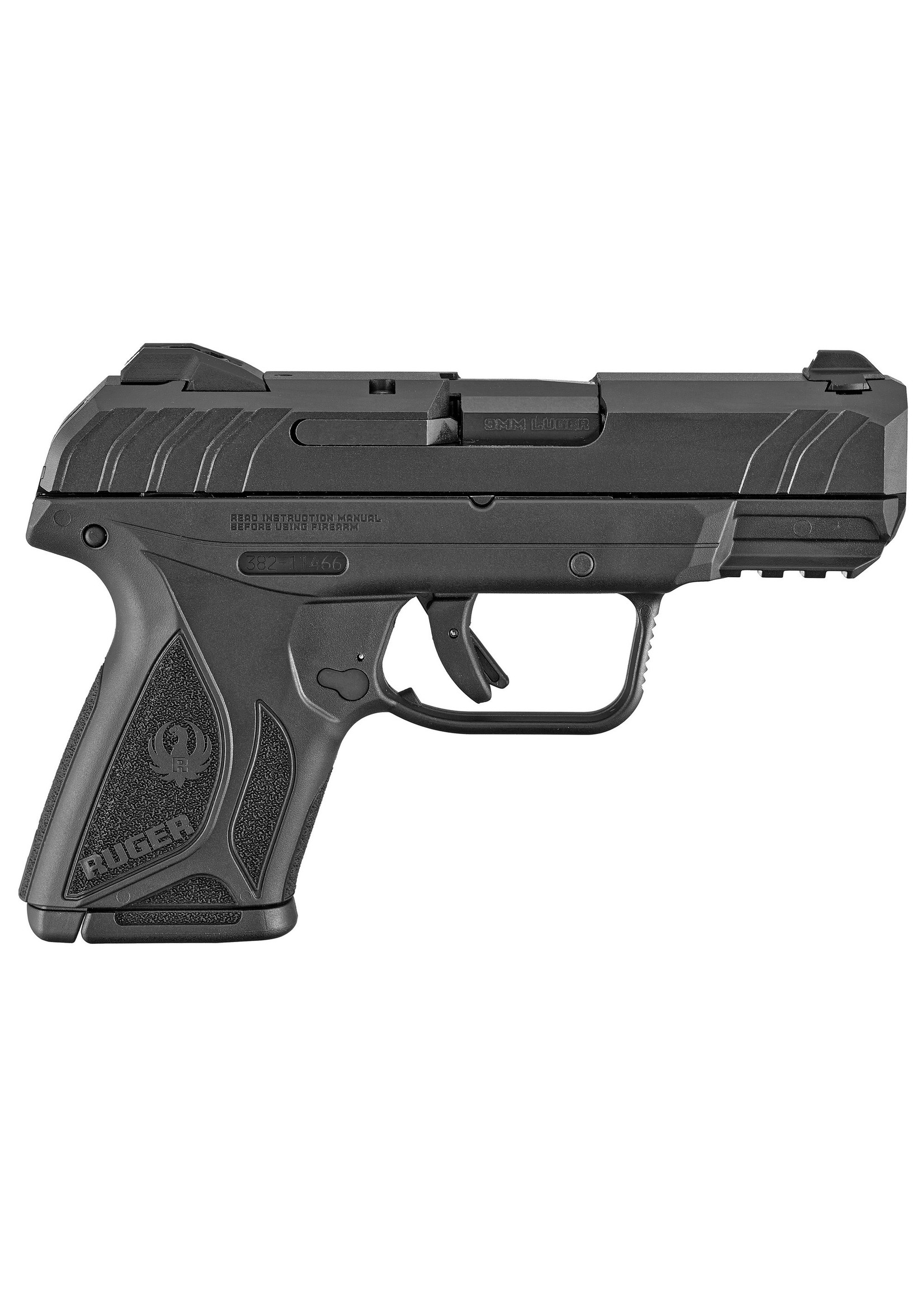 Ruger Ruger Security-9 Compact Pistol BLK 10+1 3818 | includes 2 magazines, 9mm