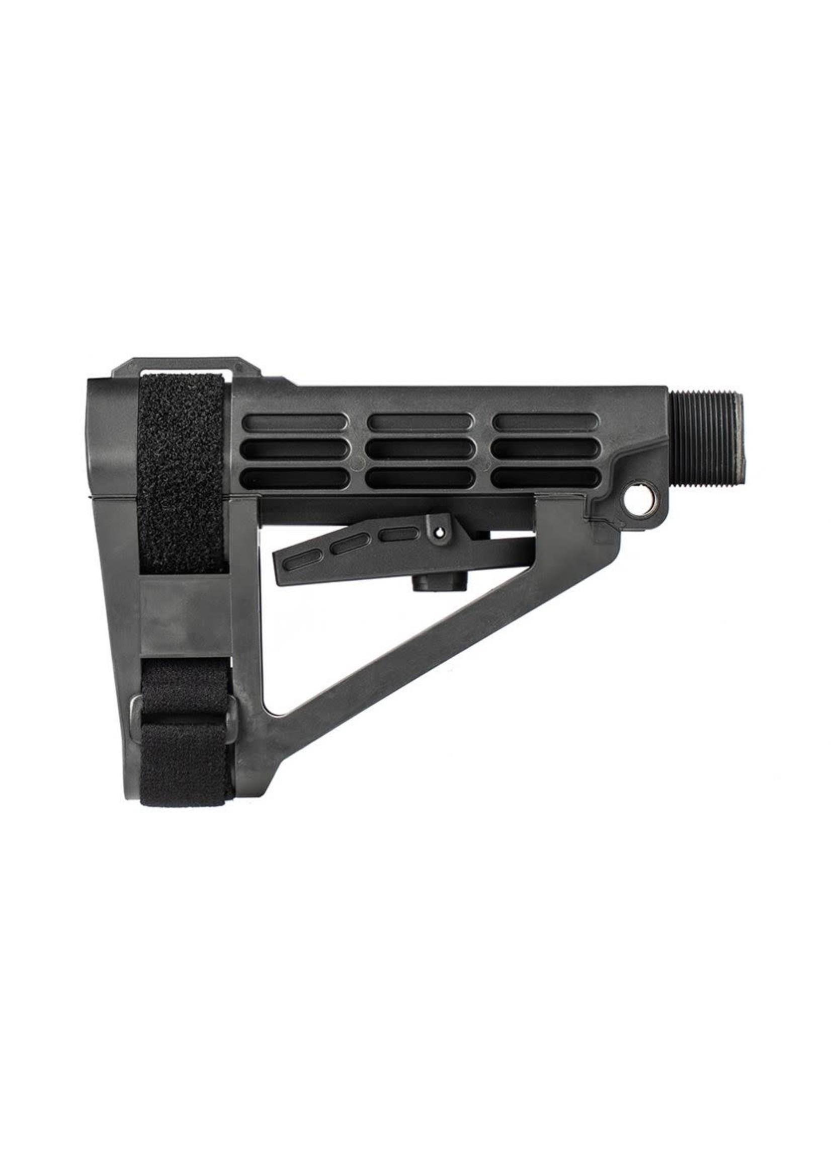 SB Tactical SB Tactical AR Brace SBA4 Pistol Stabilizing Brace w/ Mil-Spec Buffer Tube, black