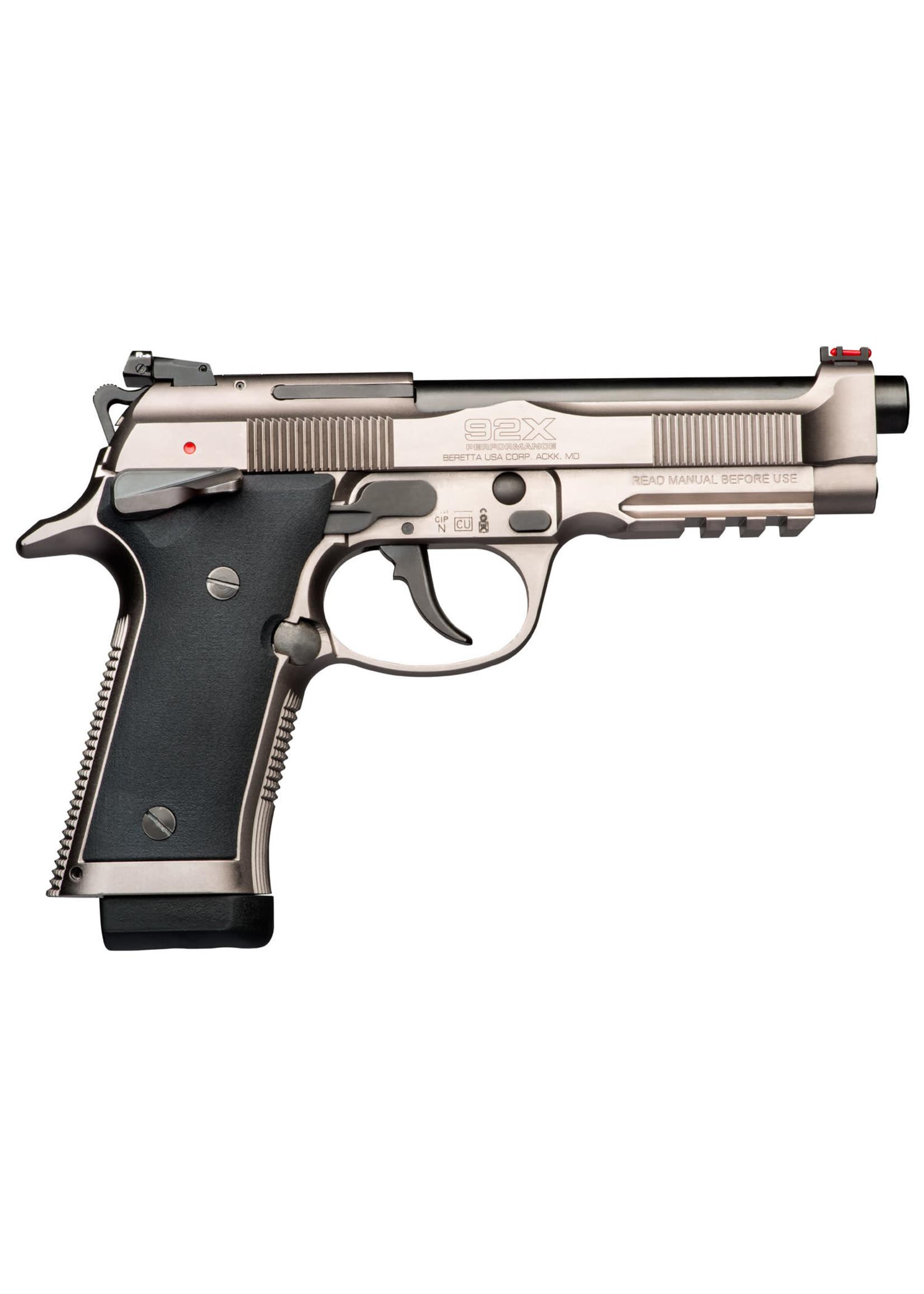 Beretta Beretta 92X Performance Pistol 9x19, 15+1, Black/SS