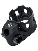Strike Industries Strike Industries Tribus Enhanced Castle Nut & End Plate, Black