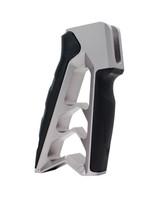 Tyrant Designs Tyrant Designs Mod Grip V2, Aluminum/Rubber AR15 Grip, Grey