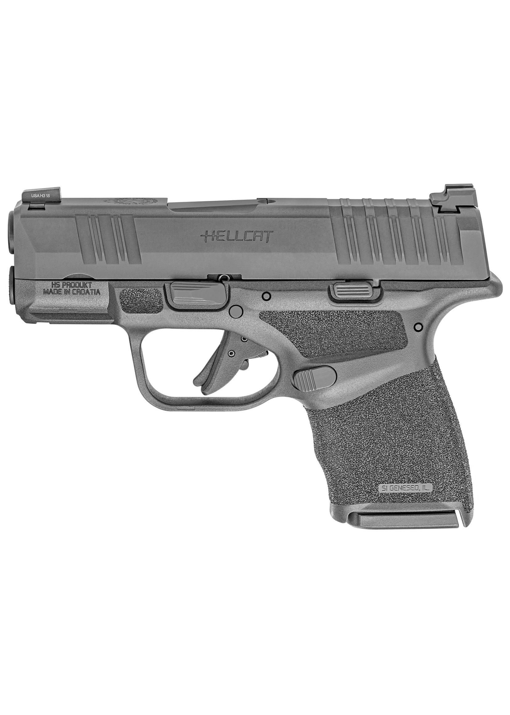 """Springfield Springfield Hellcat Pistol, 9mm Black, 3"""", 10+1, 2 Mags"""