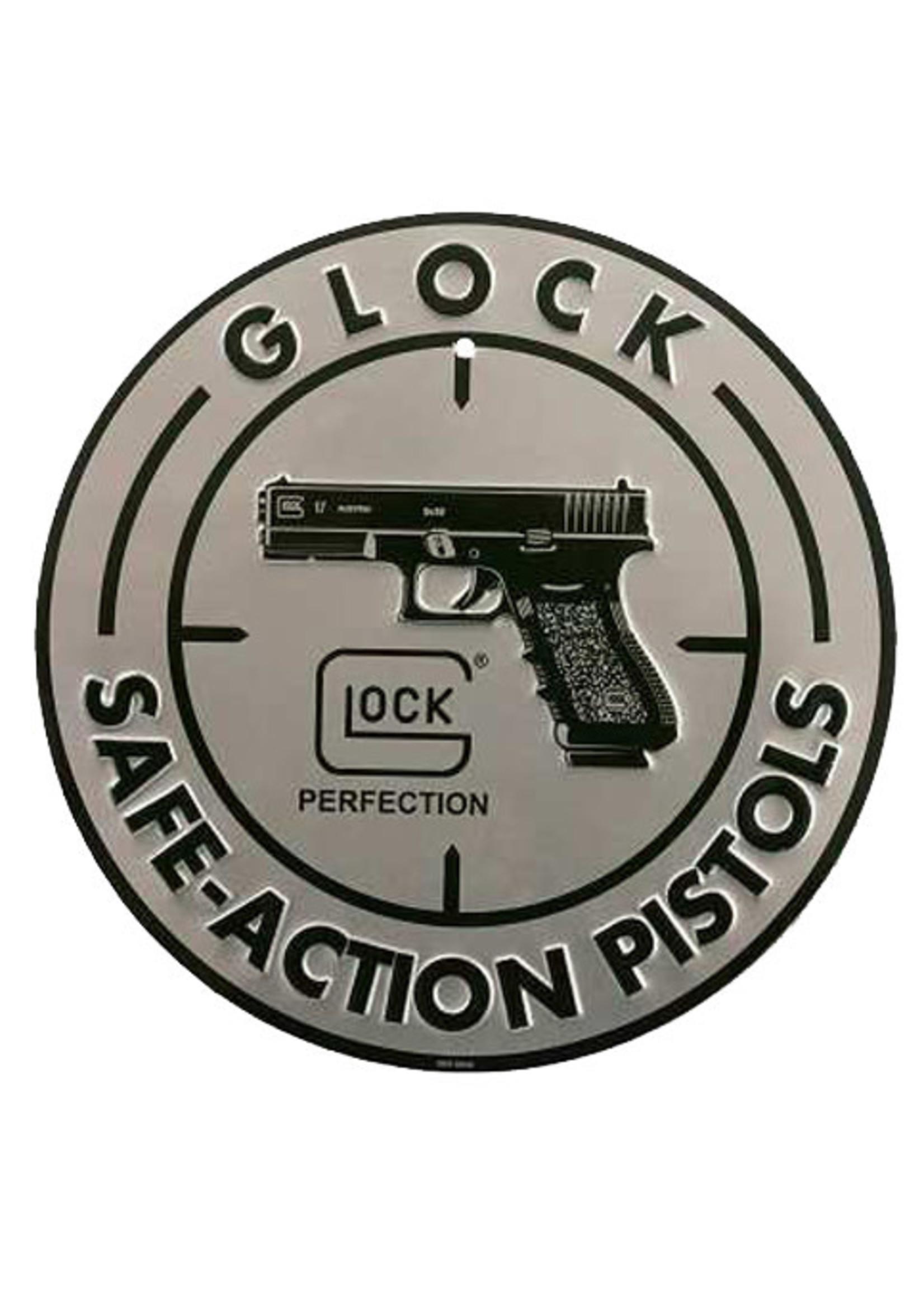 Glock Glock Safe Action Aluminum Glock Sign Silver/Black