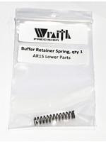 Wraith Precision Wraith Precision AR15 Lower Parts, Buffer Retainer Spring, Qty 1