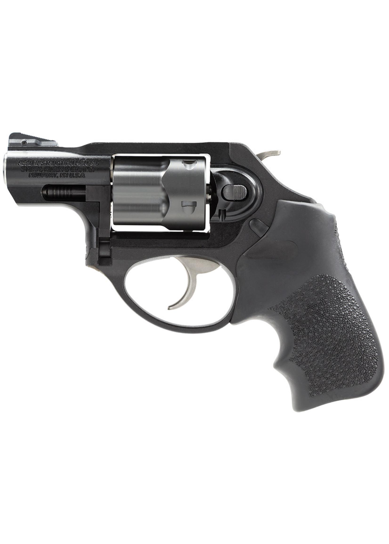 """Ruger Ruger LCRx Revolver, 38 Special +P, 5rd, 1.87"""", Black PVD Cylinder Matte,  Aluminum Frame, Black Hogue Grip"""