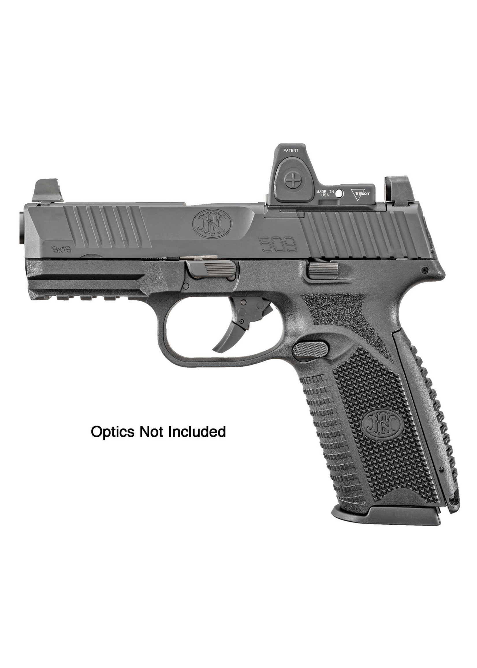 """FN FN 509 9MM Black, 4"""", 15+1, Optics Mounting System, 2 Mags"""
