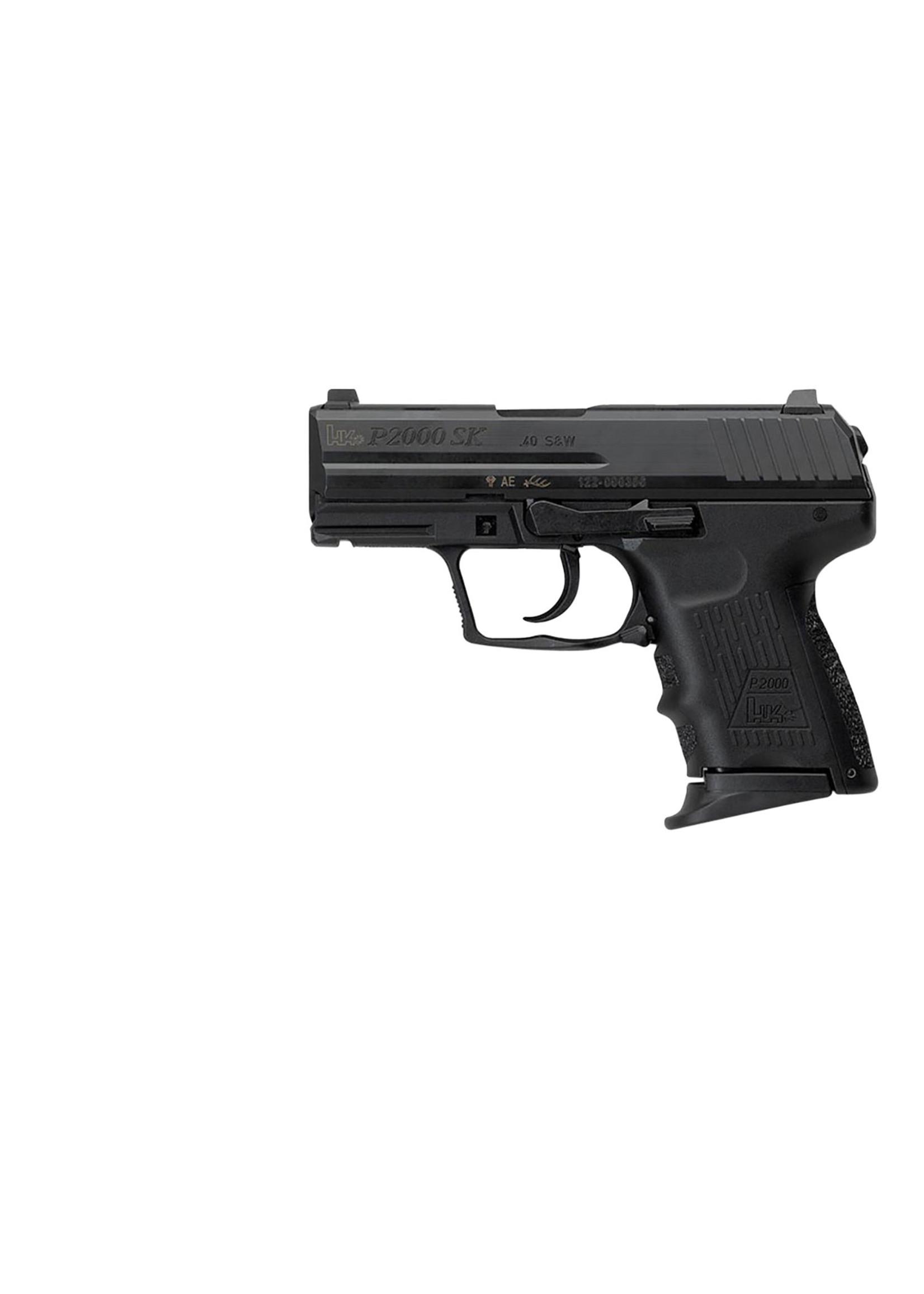 Heckler and Koch (HK) Heckler & Koch P2000 SK V2  DAO 9mm 10+1, 2 Mags