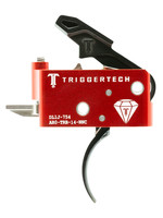 Trigger Tech Trigger Tech, Trigger, 1.5-4.0LB Pull Weight, Fits AR-15, Diamond Curved Trigger, Right Hand, Adjustable, Black Finish, Includes Installation Tools, Instructions Book, & TriggerTech Patch