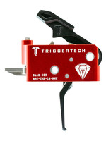 Trigger Tech Trigger Tech, Trigger, 1.5-4.0LB Pull Weight, Fits AR-15, Diamond Flat Trigger, Right Hand, Adjustable, Black Finish, Includes Installation Tools, Instructions Book, & TriggerTech Patch