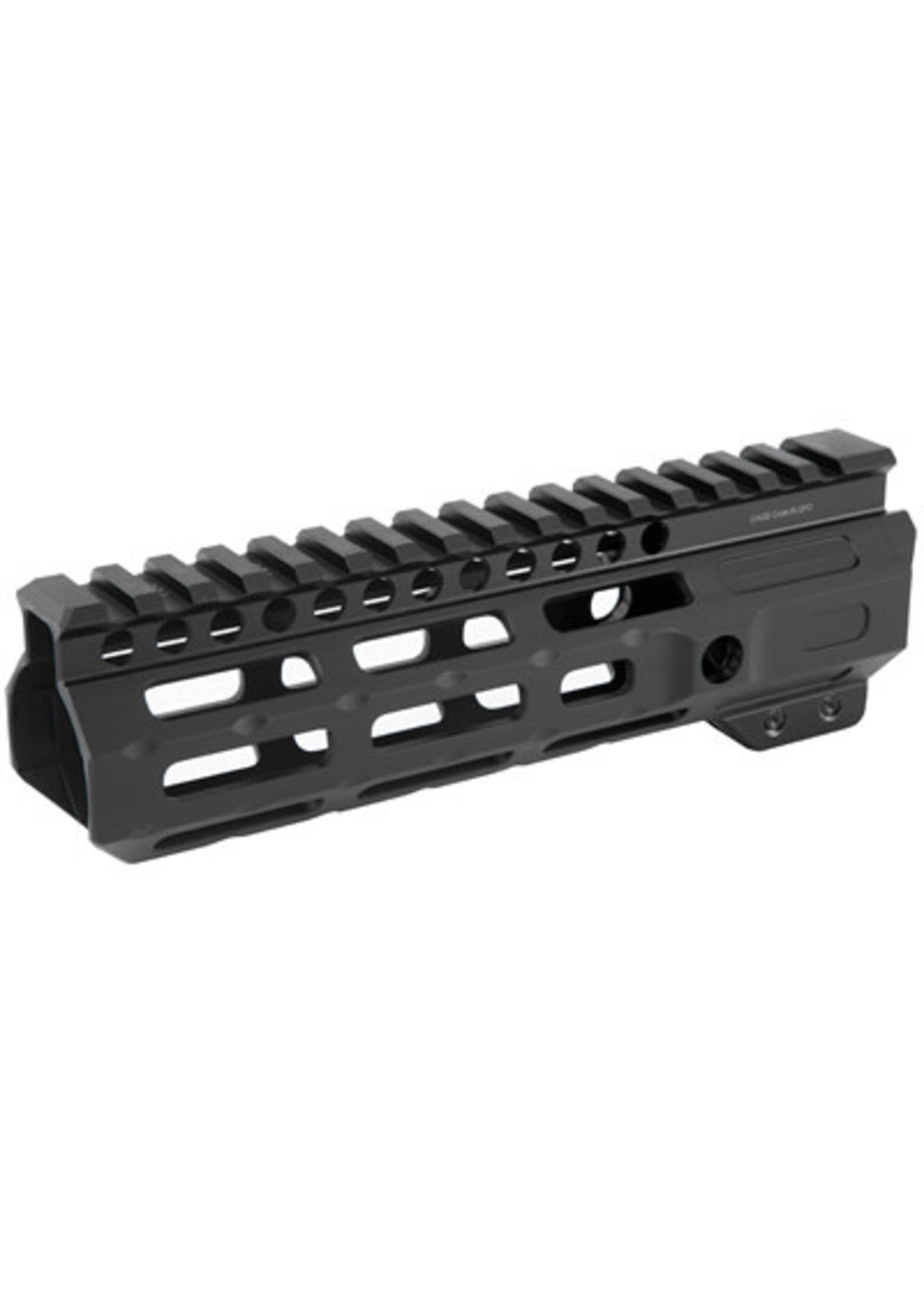 """Midwest Industries Midwest Industries, Combat Rail M-LOK, Handguard, Fits AR-15 Rifles, 7"""" Wrench Included, Black"""