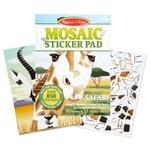 Melissa & Doug Autocollants Mosaique Safari