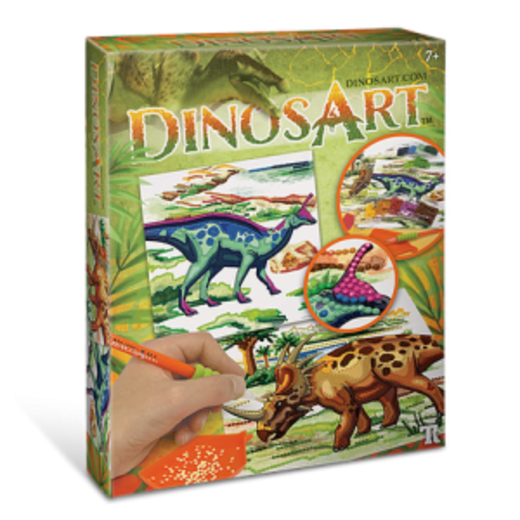 DinosArt DinosArt Strass par Numéros