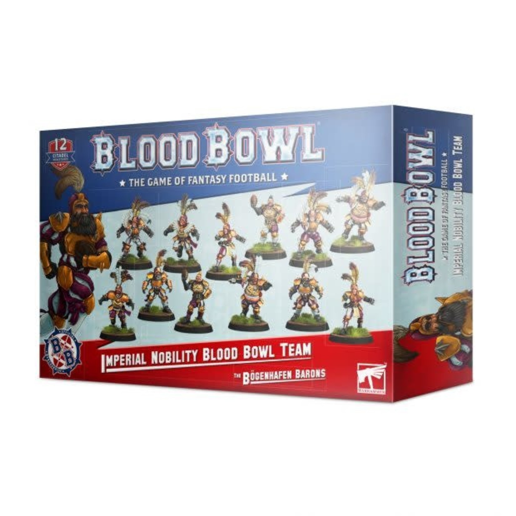 Blood Bowl BloodBowl - Imperial Nobility Team