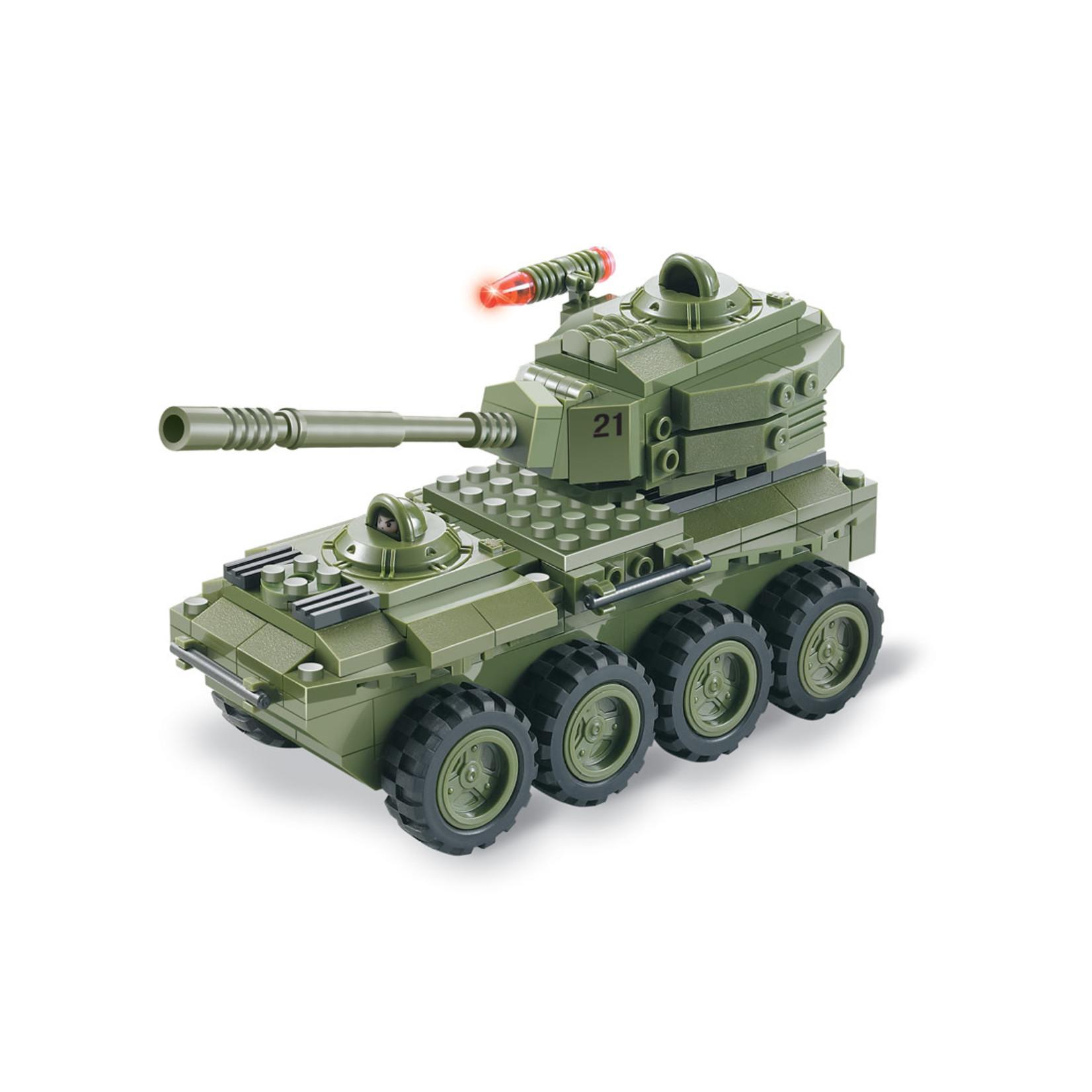 Brictek Army: 8-wheeler tank