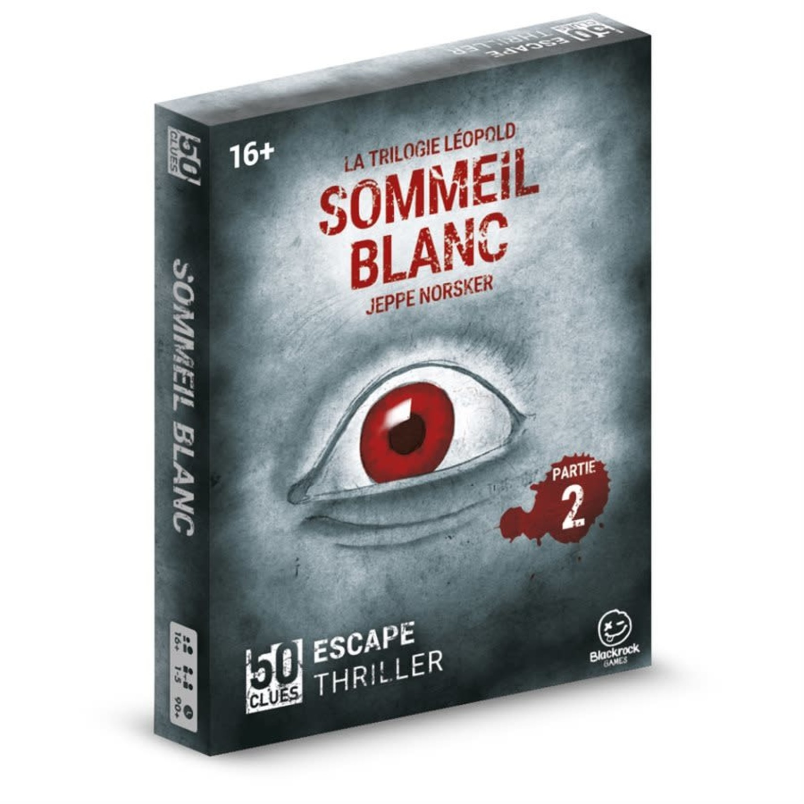 Norsker Games 50 Clues-Sommeil Blanc