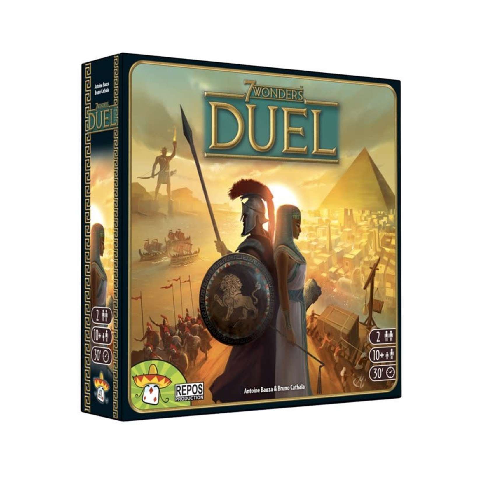 Repos Production 7 wonders Duel (Francais)