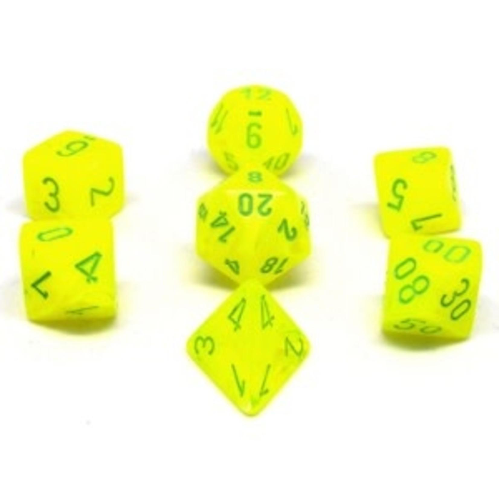 Chessex Ensemble de 7 des polyedriques V