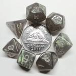 Metallic Dice Game Mini-Des Polyedriques: Stardust