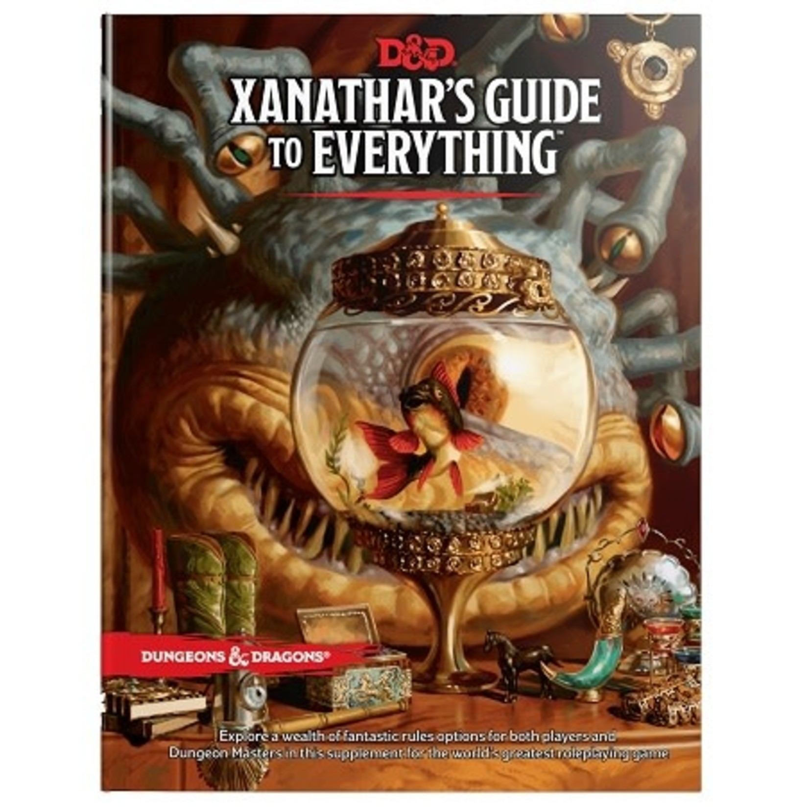 Wizard Of The Coast D&D Xanathar's Guide to Everything (ENG)